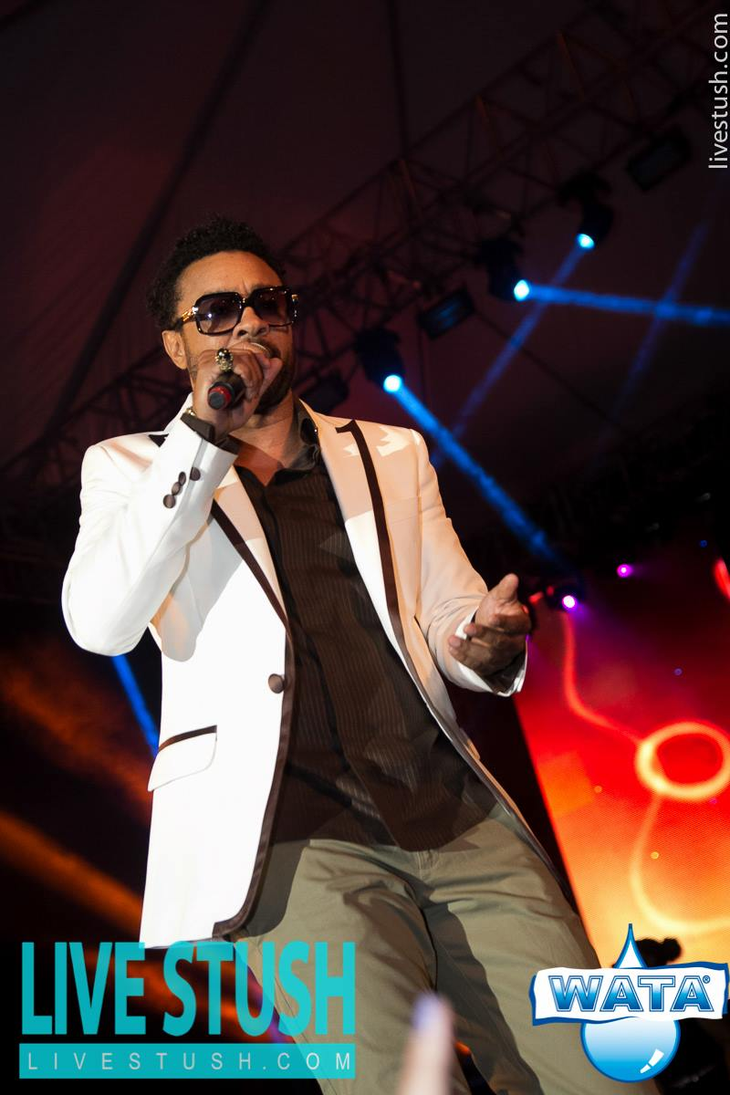 The Man behind the show , International Recording Artiste Shaggy
