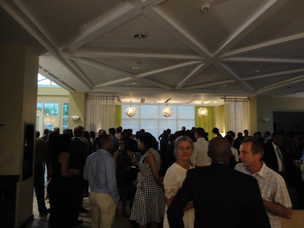 Guests at Courtyard Marriott New Kingston Opening